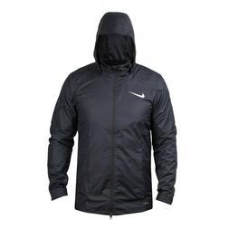 Nike Mens Academy 18 Rain Jacket Ripstop Fabric Black Medium