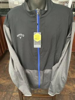 Callaway Mens Black weather series tour golf jacket pullover