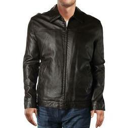 Tommy Hilfiger Mens Brown Coat Bomber Jacket Outerwear Big &