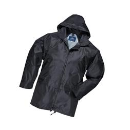 Portwest Mens Classic Rain Jacket    Black ... - FREE 2 day