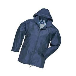 Portwest Mens Classic Rain Jacket  Navy 3XL
