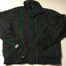 PROQUIP Mens Goretex Plaid Waterproof Rain Full Zip Jacket S