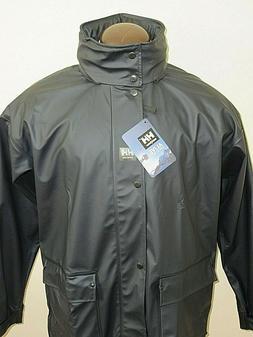 Helly Hansen Mens Impertech Deluxe Waterproof Rain Jacket Bl