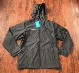 Mens Columbia Jacket Full Zip Hoodie Windbreaker Rain XM0941