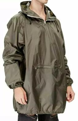 4ucycling Mens Rain Coat Jacket Poncho in a Pouch Outdoor,Ar