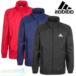 Mens Adidas Rain Jacket Waterproof  Sports Coat Running Cycl