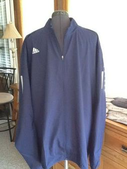 ADIDAS Mens Reflective Wind Breaker Water Repellent Rain Run