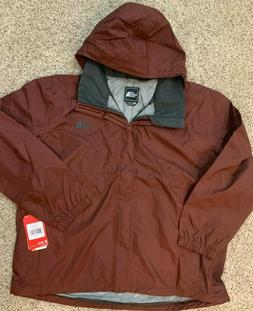 The North Face mens sequoia red Resolve Rain Jacket 2XL