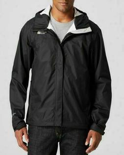 mens venture jacket rain waterproof jacket black