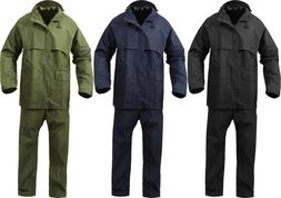 Microlite 2-Piece Rain Suit Lightweight Durable Waterproof J