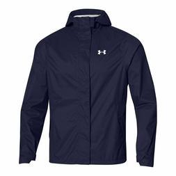 Under Armour Midnight Navy Ace Rain Jacket 100% Waterproof M