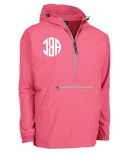 Monogrammed Charles River Rain Pullover - Charles River Pack