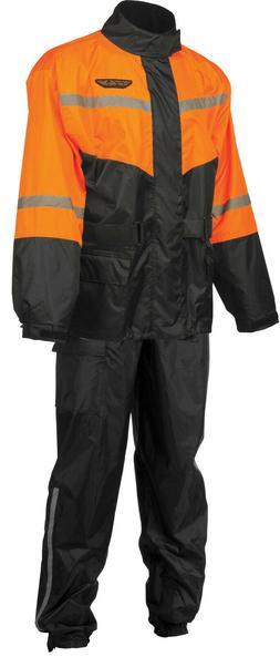 Motorcycle Work Outdoor Heavy Duty 2-Piece Rain Suit Pants &