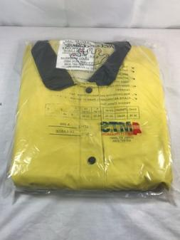NEW 2XL Regal Classic Safety Jacket Flame Tested Slicker Rai