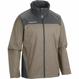 New $60 Columbia mens Raincreek Falls water repellent rain j