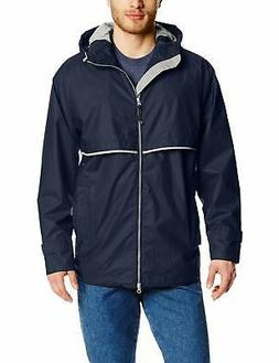 CHARLES RIVER APPAREL NEW Blue Men Large L Windbreaker Rain