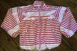 NEW Hunter for Target Girls Size M 7/8 Striped Windbreaker R