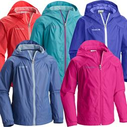 """New Girls Columbia """"Switchback"""" Water-Resistant Reflective R"""