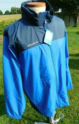NEW Columbia Glennaker Lake Rain Jacket - Mens Sz XL - NWT W