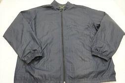 New  Adidas Golf  Rain Jacket Mens Size XL  Navy/Black  217H