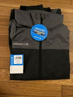 New Columbia Men's Glennaker Lake Front Zip Rain Jacket with
