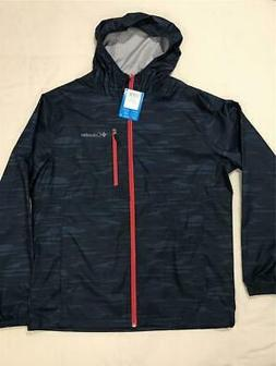 New Columbia Men's Morning View Packable Hooded Light Rain J