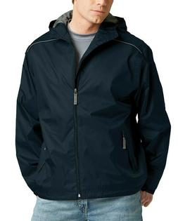 NEW Men's Rain Jacket - Waterproof Windproof  Charles River