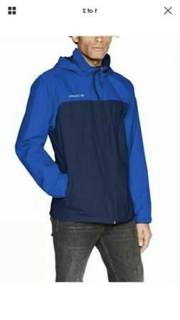 New Men's XL blue, navy Columbia Glennaker Lake waterproof r