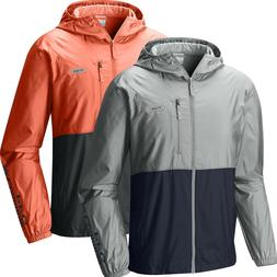 """New Mens Columbia """"PFG Morning View"""" Water-Resistant Windbre"""