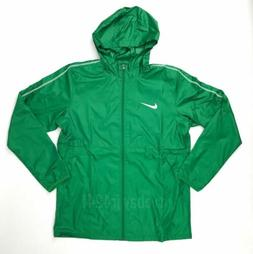 New Nike Park 18 Rain Jacket Full Zip Men's Large Windbreake