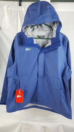 NEW THE NORTH FACE VENTURE JACKET SODALITE BLUE HEATHER WOME