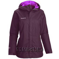 "New Womens Columbia ""Arcadia II"" Omni-Tech Waterproof Rain W"