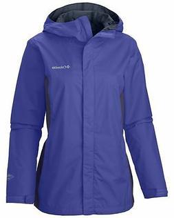 "New Womens Columbia ""Arcadia II"" Omni-Tech Waterproof Rain J"