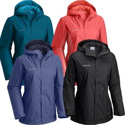 "New Womens Columbia ""Arcadia"" Omni-Tech Waterproof Rain Jack"