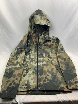 North Face Camo Rain Jacket NWOT