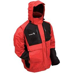 Frogg Toggs NT6201-110MD Firebelly TOADZ Jacket MD-RD/BK