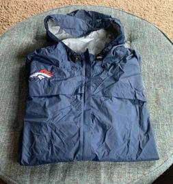Nwot Nike Denver Broncos Rain Jacket Mens Big&Tall Size 4XL