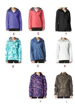 NWT $90-$110 COLUMBIA Women's Arcadia ™ II Rain jacket Pri