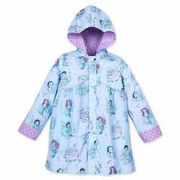 Disney NWT Animator Princess Reversible Rain coat jacket 5/6