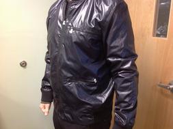NWT Calvin Klein Jeans Men XL Black Varsity Rain Jacket $148