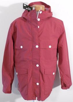 NWT Levis California Mens Sierra Hooded Rain Coat Jacket L R