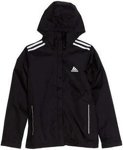 NWT Adidas Men's Core 11 Rain Jacket Black/White 3XL