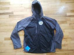 NWT COLUMBIA MEN'S DOWN RIVER II OMNI HEAT HOODED WATERPROOF