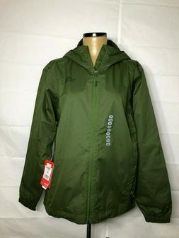 nwt men s green quest waterproof hooded