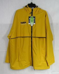 NWT Charles River Apparel Men's or Women's Rain Jacket Army
