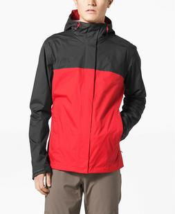 NWT THE NORTH FACE MEN'S VENTURE 2 HOODED RAIN JACKET FIERY