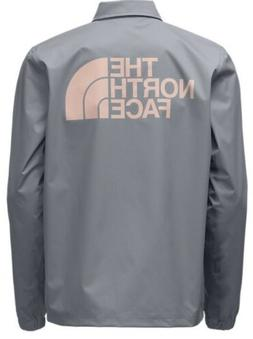 NWT THE NORTH FACE MEN'S  COACHES RAIN JACKET MID GREY URB