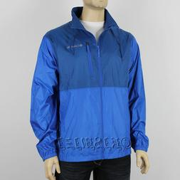 NWT Mens Columbia Morning View Water-Resistant Collard Windb