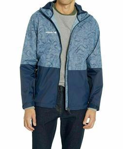 NWT COLUMBIA Men's Roan Mountain Rain Jacket Mountain Topo
