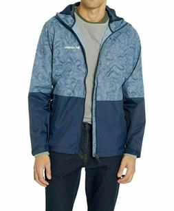 COLUMBIA Men's Roan Mountain Rain Jacket Mountain Topo Pri